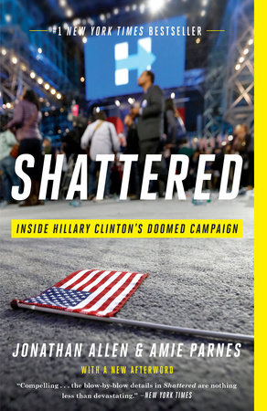 The cover of the book Shattered