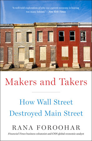 The cover of the book Makers and Takers