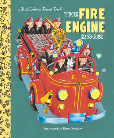 The Fire Engine Book by Golden Books