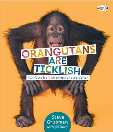 Orangutans Are Ticklish: Fun Facts from an Animal Photographer by Jill Davis