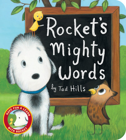 Rocket's Mighty Words (Oversized Board Book) by Tad Hills