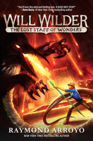 Will Wilder #2: The Lost Staff of Wonders