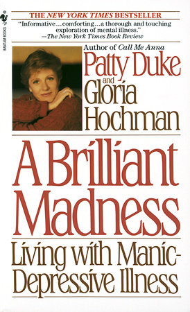 The cover of the book Brilliant Madness