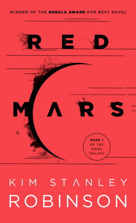 The cover of the book RED MARS