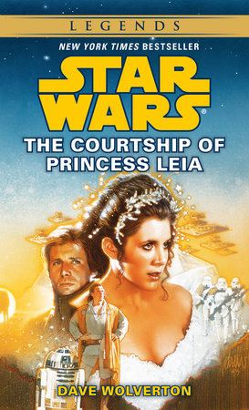 The cover of the book Star Wars: The Courtship of Princess Leia