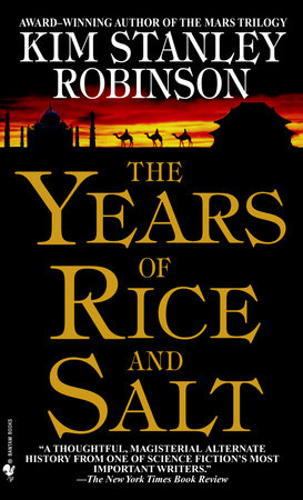 The cover of the book The Years of Rice and Salt