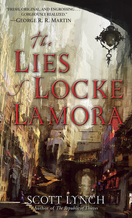 The Lies of Locke Lamora Book Cover Picture