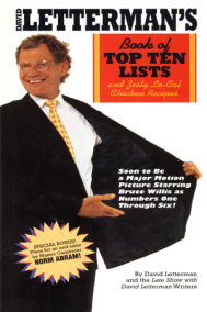 David Letterman's Book of Top Ten Lists