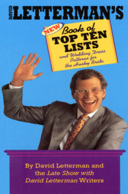 David Letterman's New Book of Top Ten Lists