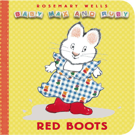 Red Boots by Rosemary Wells