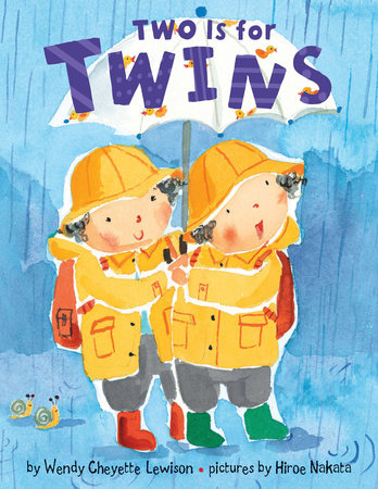 Two is for Twins by Wendy Cheyette Lewison