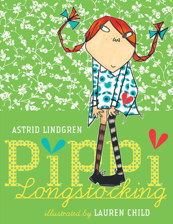 Pippi Longstocking Book Cover Picture