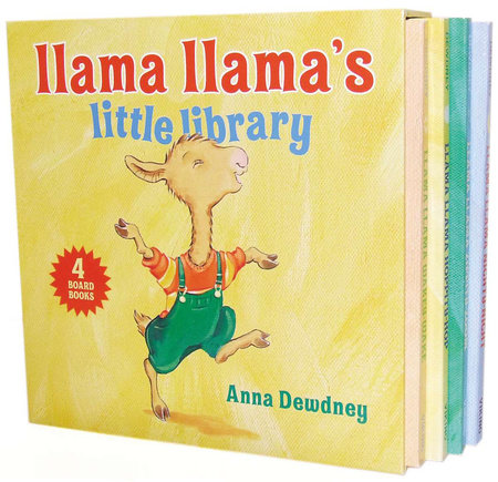Llama Llama's Little Library by Anna Dewdney