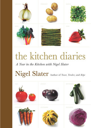The cover of the book The Kitchen Diaries