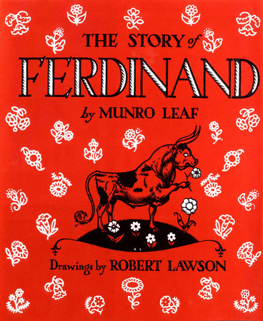 The cover of the book The Story of Ferdinand