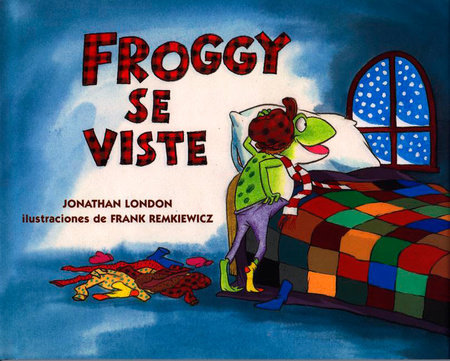SE Froggy Gets Dressed by Jonathan London