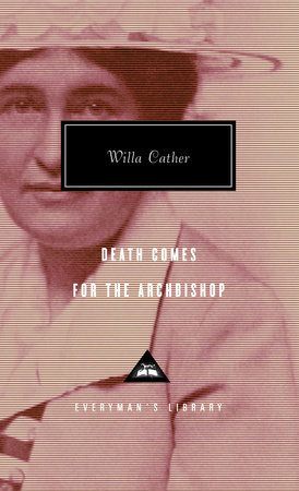 The cover of the book Death Comes for the Archbishop