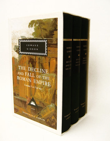 The Decline and Fall of the Roman Empire, vol. 1-3