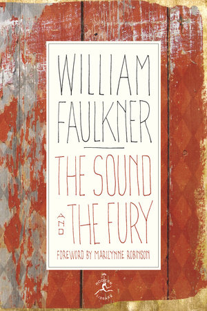 The cover of the book The Sound and the Fury