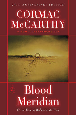 The cover of the book Blood Meridian