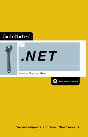 CodeNotes for .NET by Gregory Brill