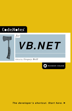 CodeNotes for VB.NET by Gregory Brill