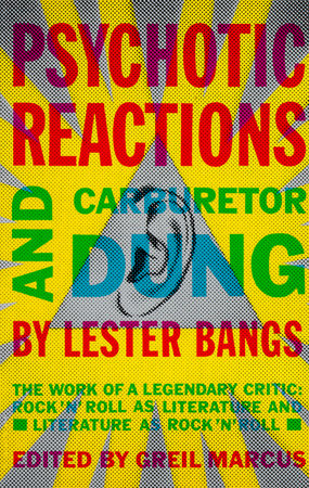 The cover of the book Psychotic Reactions and Carburetor Dung