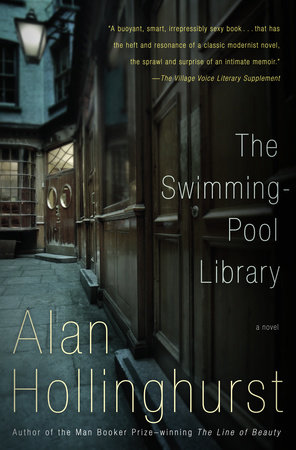The cover of the book The Swimming-Pool Library