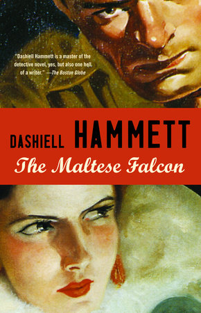 The cover of the book The Maltese Falcon