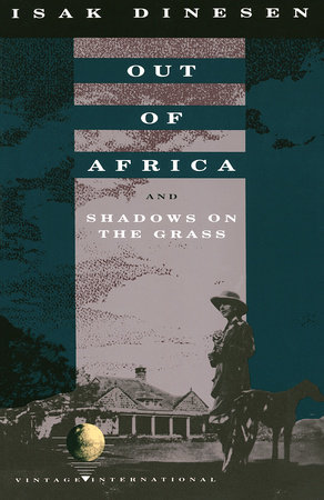 The cover of the book Out of Africa