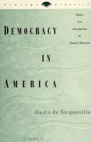 Democracy in America, Vol. 1