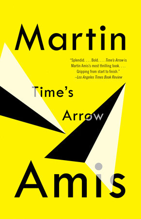 The cover of the book Time's Arrow