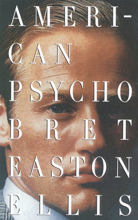 The cover of the book American Psycho