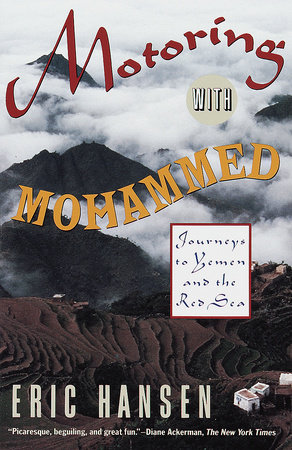 The cover of the book Motoring with Mohammed