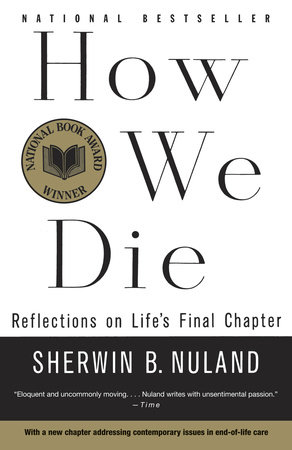 The cover of the book How We Die