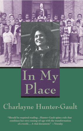 In My Place by Charlayne Hunter-Gault