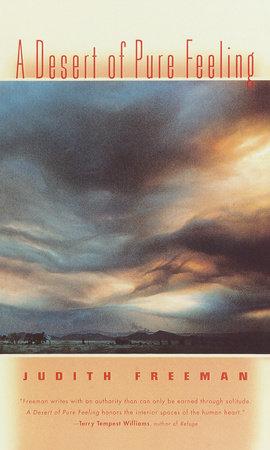 A Desert of Pure Feeling by Judith Freeman