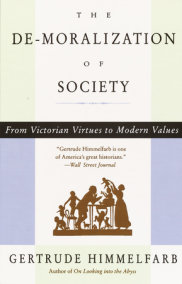 The De-Moralization of Society