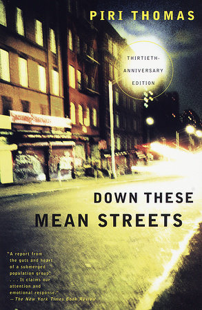 DOWN THESE MEAN STREETS Book Cover Picture