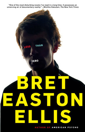 The cover of the book Less Than Zero