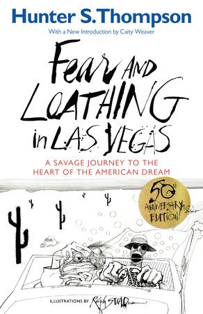 The cover of the book Fear and Loathing in Las Vegas