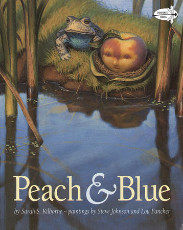 PEACH AND BLUE by