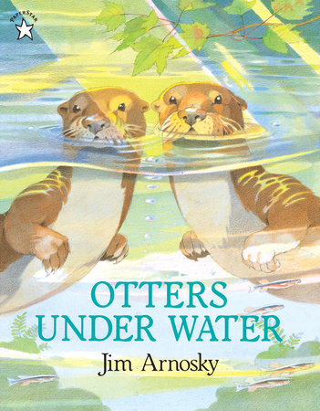 Otters under Water