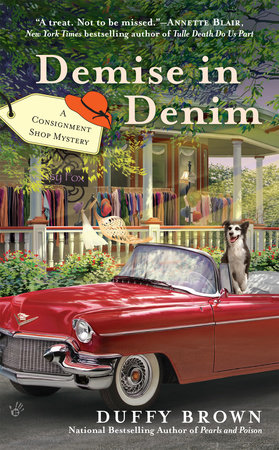 Demise in Denim by Duffy Brown