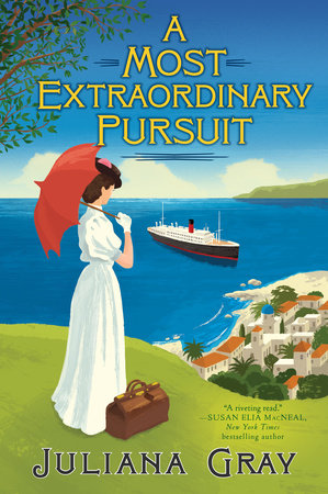 A Most Extraordinary Pursuit Book Cover Picture