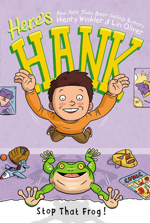 Stop That Frog! #3 by Henry Winkler and Lin Oliver