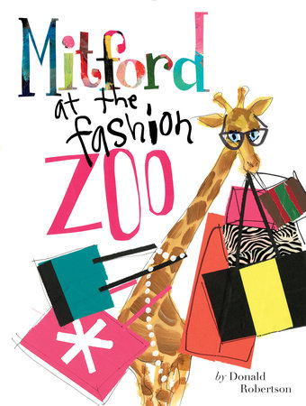 Mitford at the Fashion Zoo by Donald Robertson
