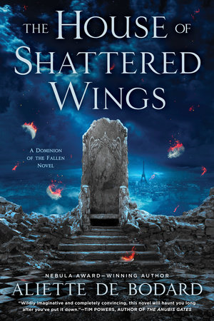The cover of the book The House of Shattered Wings