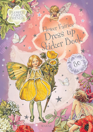 Flower Fairies Dress Up Sticker Bk by Cicely Mary Barker