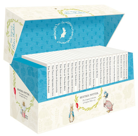 The Original Peter Rabbit Presentation Box 1-23 R/I by Beatrix Potter